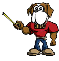 Cincinnati Gutter & Roof Protection Dog