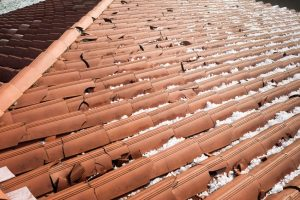 Broken Tile Roofing