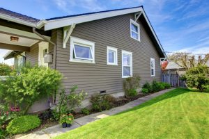 Home With Grey Siding